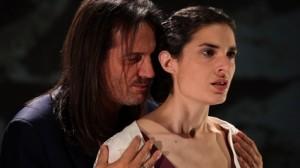 Francis Lalanne et Véronique Ebel